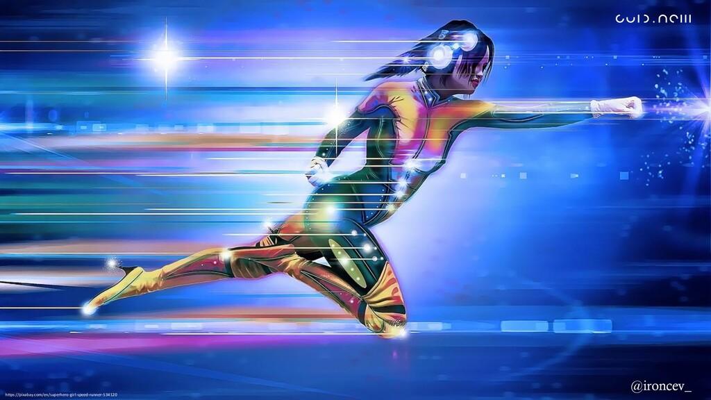 https://pixabay.com/en/superhero-girl-speed-run...