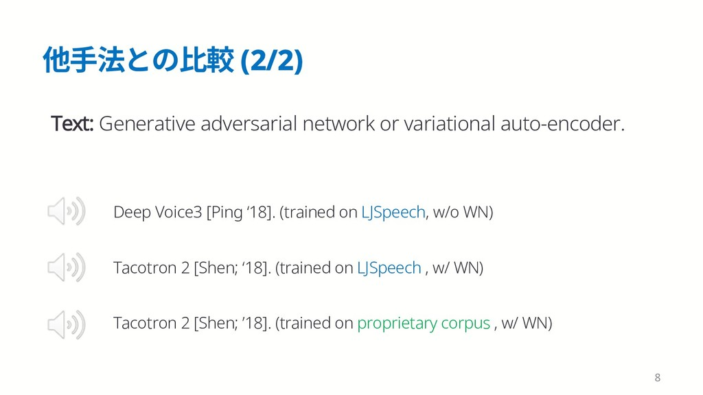 ➭䩛岀הך嫰鯰 (2/2) 8 Text: Generative adversarial ne...