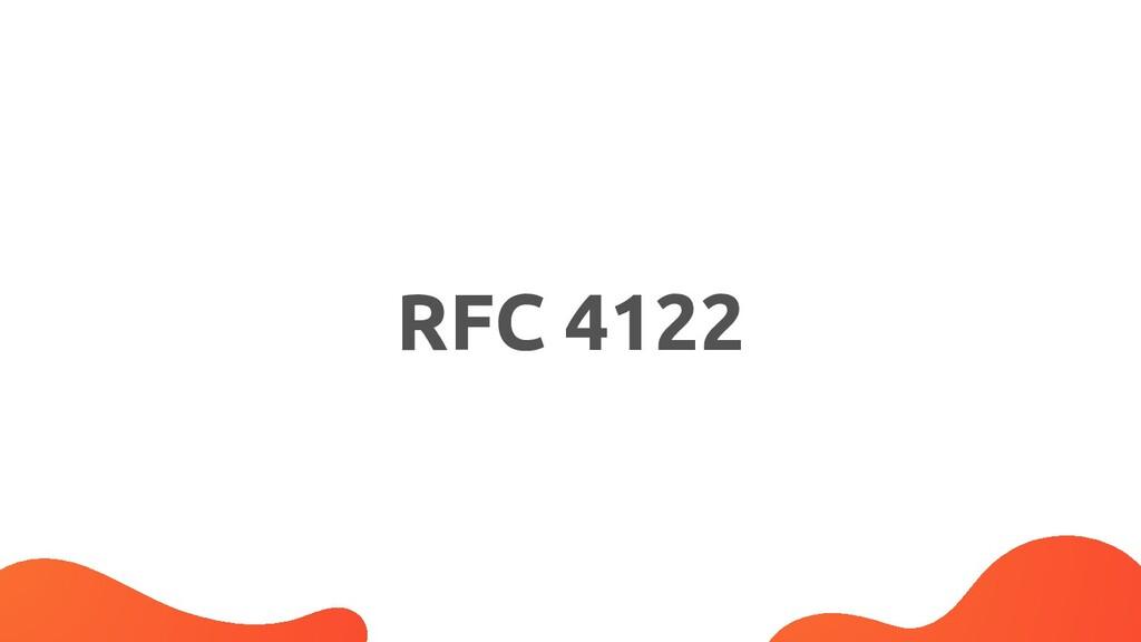 RFC 4122