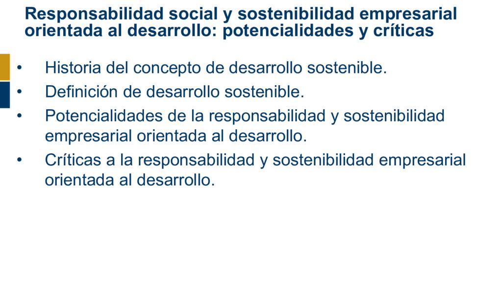 Responsabilidad social y sostenibilidad empresa...