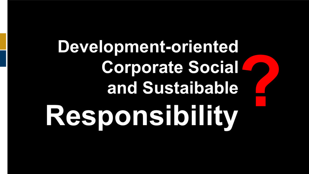 140 Development-oriented Corporate Social and S...