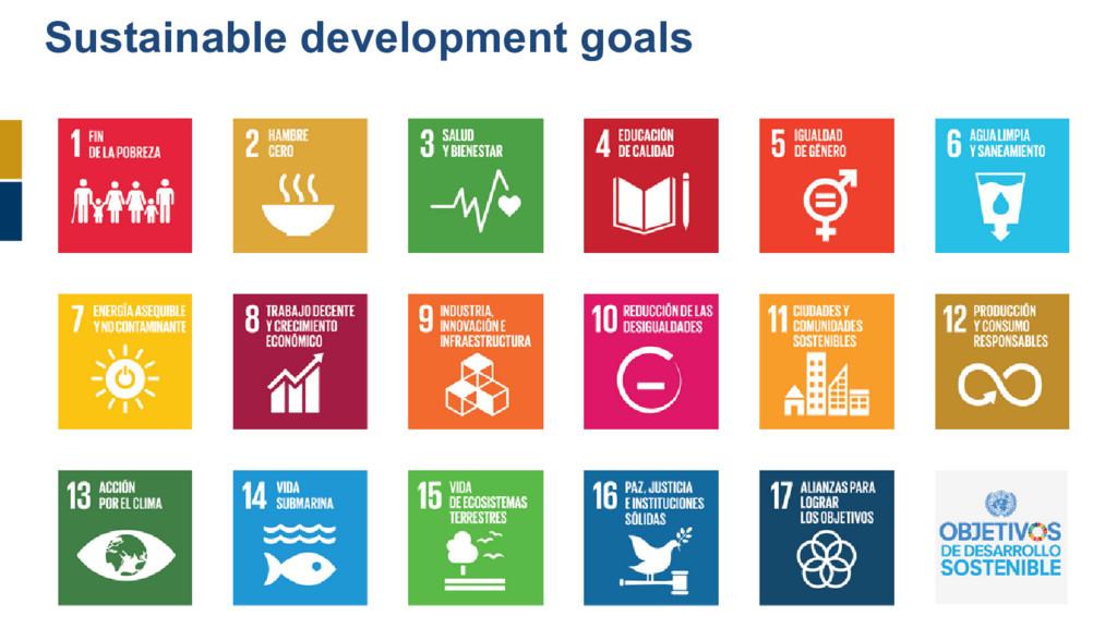 146 Sustainable development goals