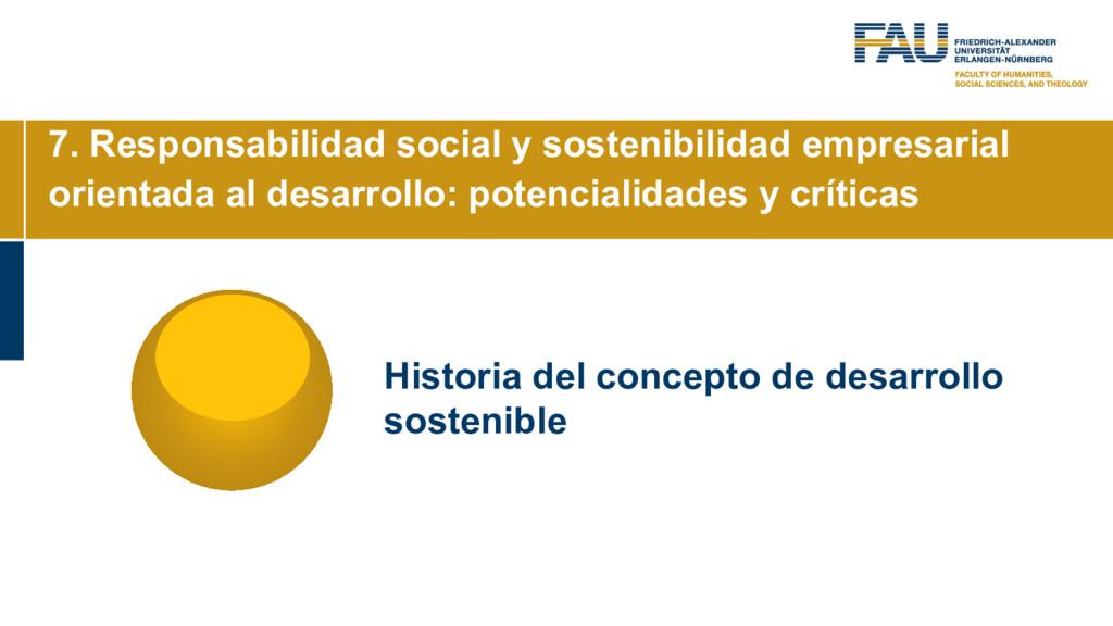 7. Responsabilidad social y sostenibilidad empr...