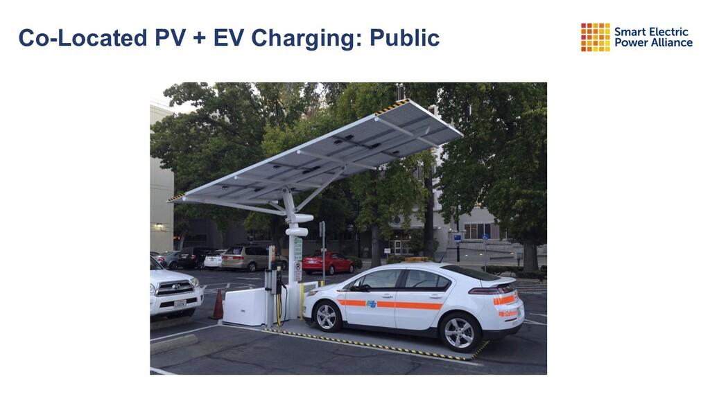 Co-Located PV + EV Charging: Public