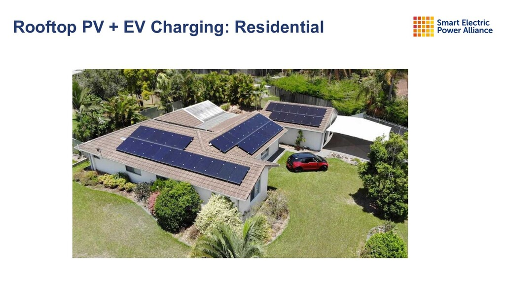 Rooftop PV + EV Charging: Residential