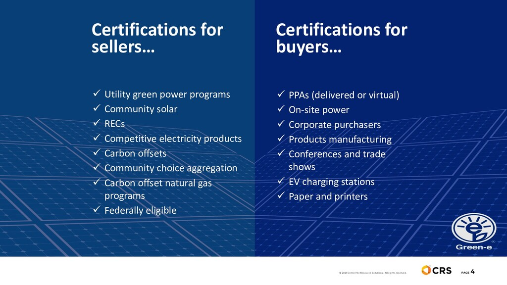 PAGE 4 Certifications for sellers… ü Utility gr...