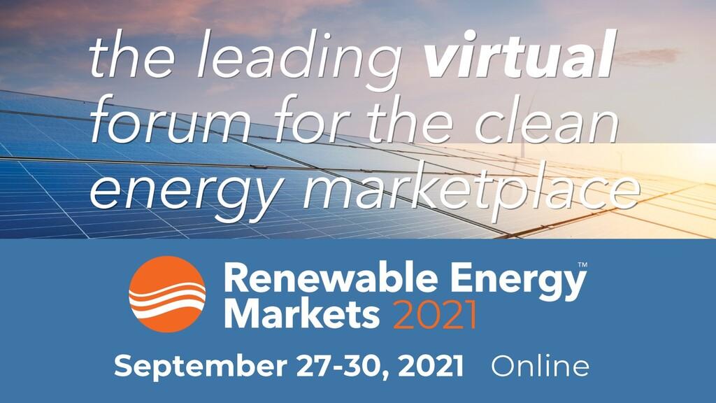 2021 September 27-30, 2021 Online