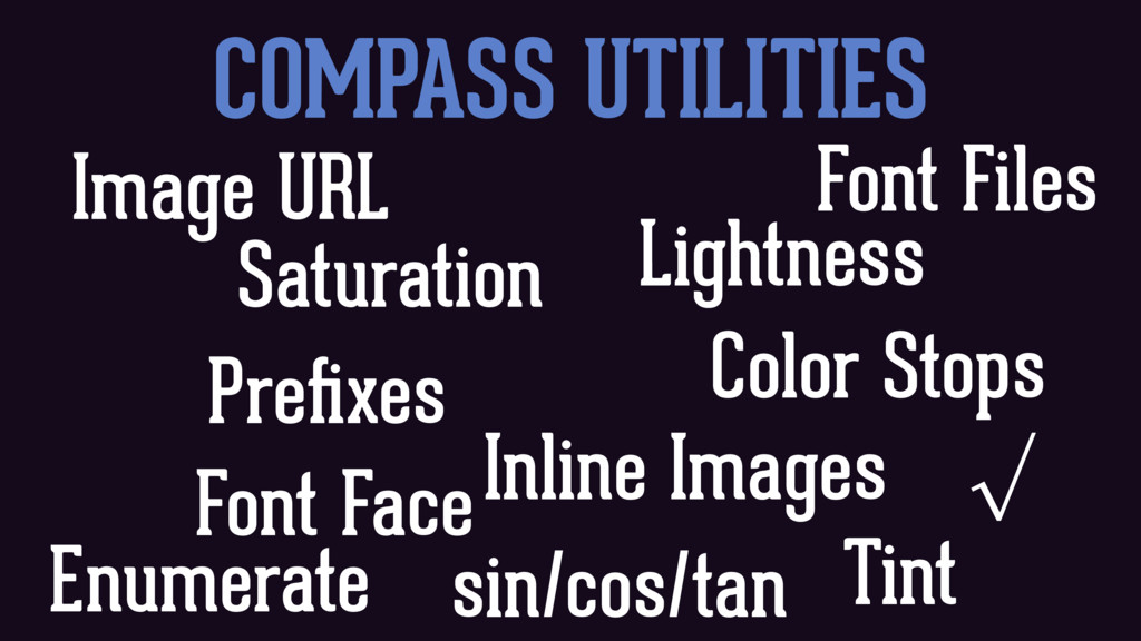 COMPASS UTILITIES Saturation Lightness Color St...