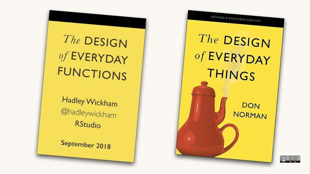 The DESIGN  of EVERYDAY  FUNCTIONS Hadley Wic...