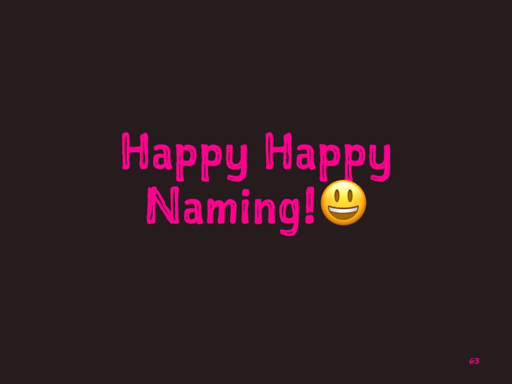 Happy Happy Naming!! 63