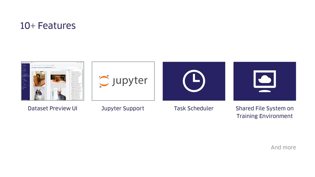 10+ Features Jupyter Support And more Dataset P...