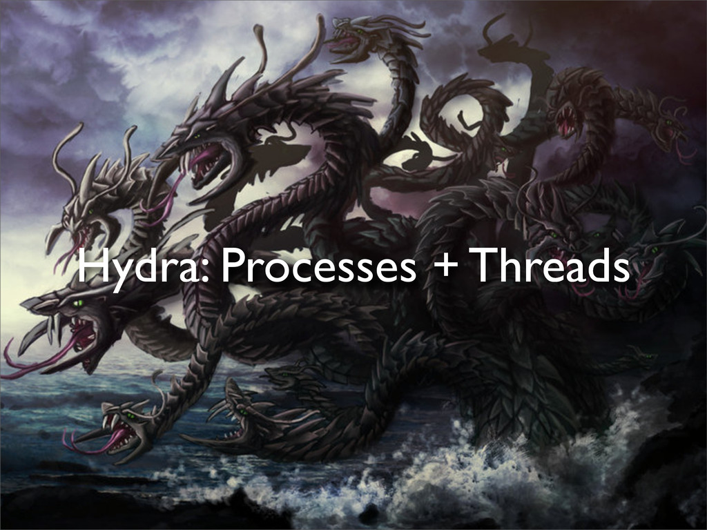 Hydra: Processes + Threads