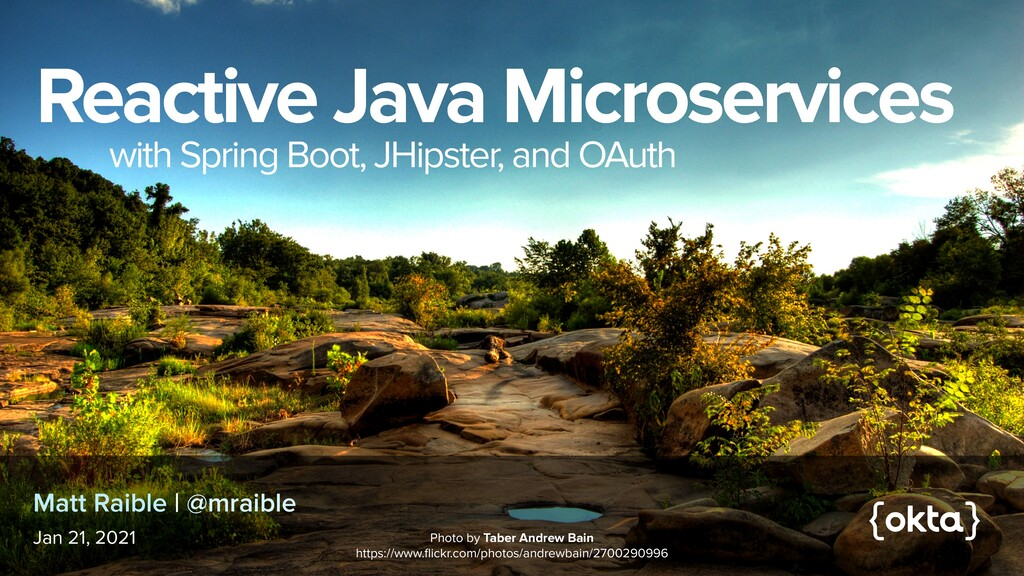 Reactive Java Microservices   with Spring Boot,...