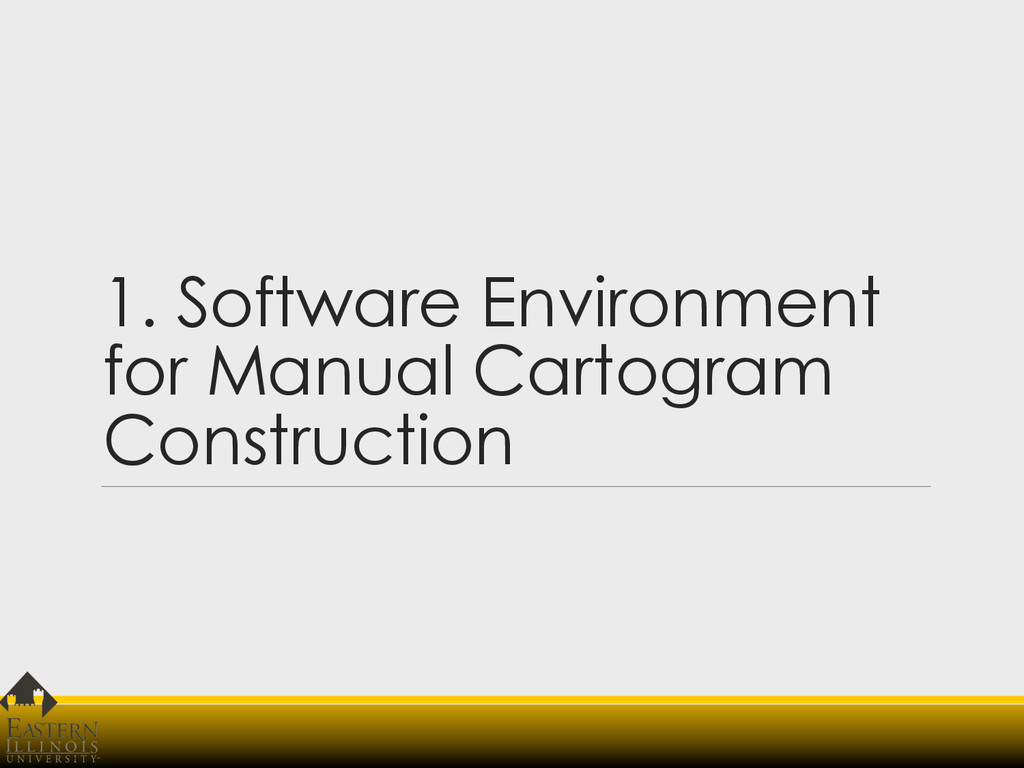 1. Software Environment for Manual Cartogram Co...