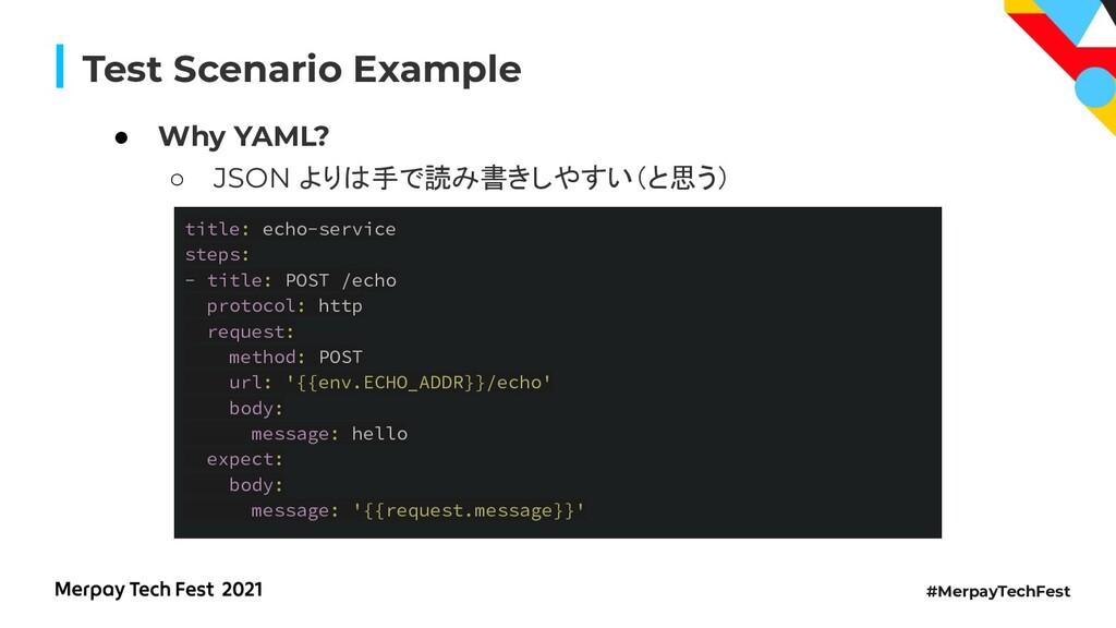 #MerpayTechFest Test Scenario Example title: ec...