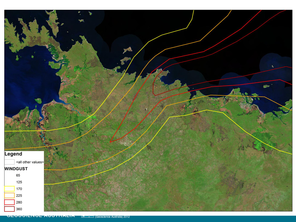 Severe tropical cyclone Monica, NT, 2006