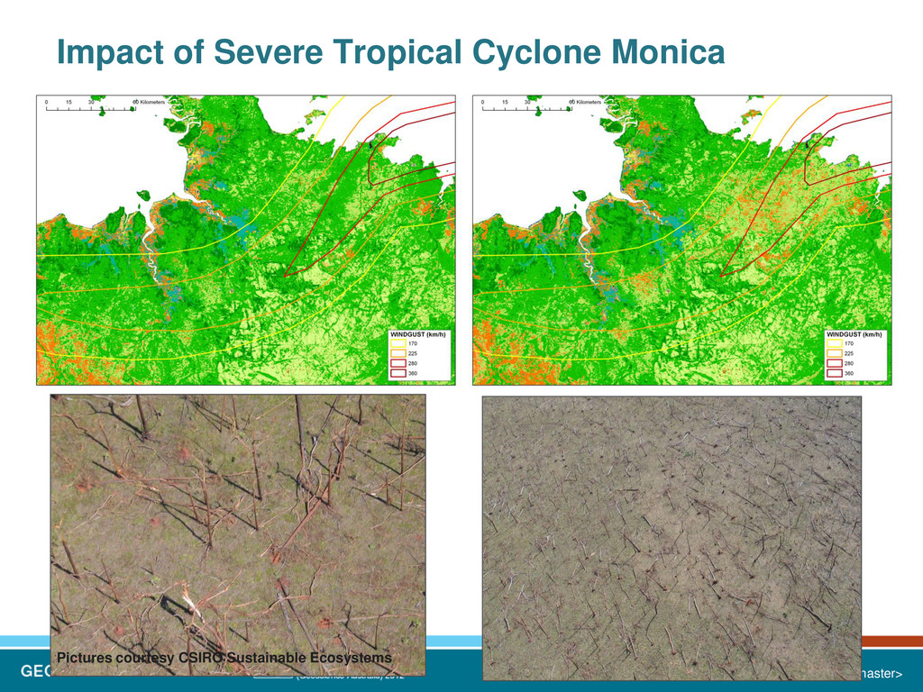 Impact of Severe Tropical Cyclone Monica Insert...