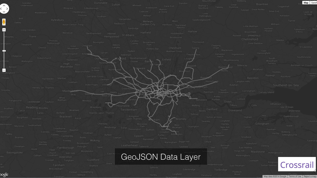 GeoJSON Data Layer