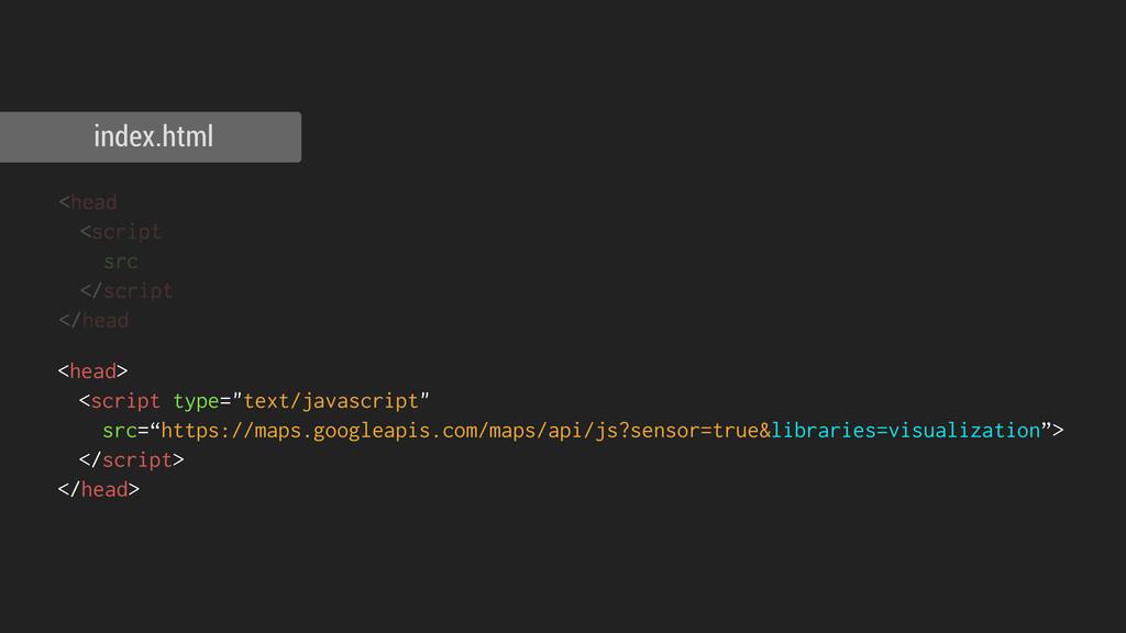 <head <script src </script </head index.html <h...