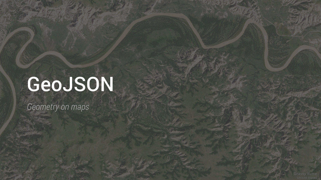 GeoJSON Geometry on maps