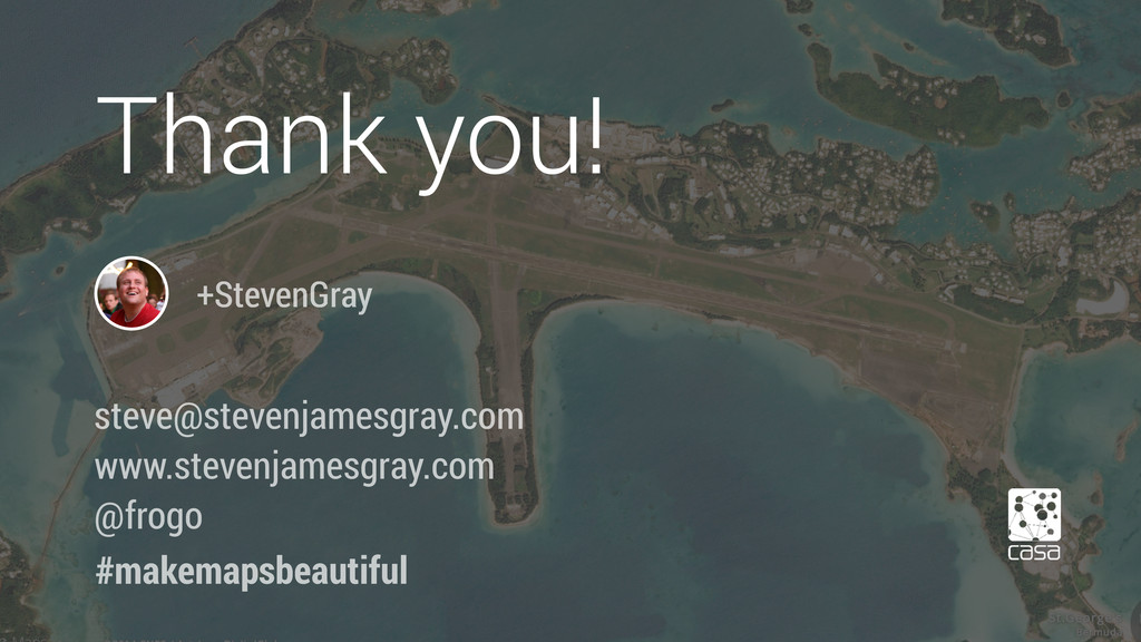 +StevenGray Thank you! #makemapsbeautiful steve...