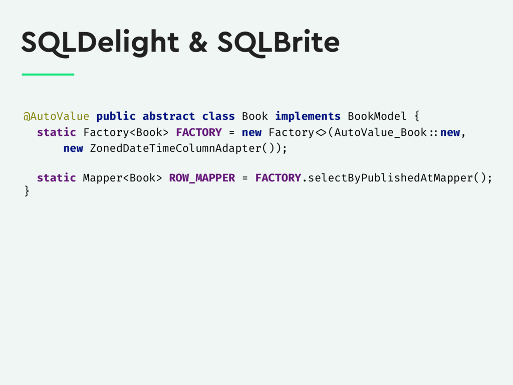 SQLDelight & SQLBrite @AutoValue public abstrac...