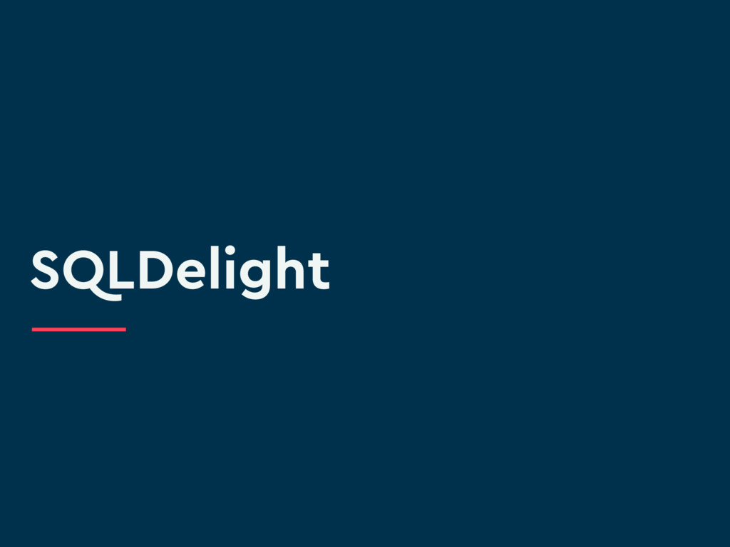 SQLDelight