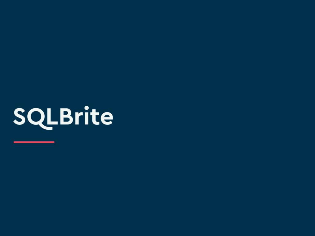 SQLBrite