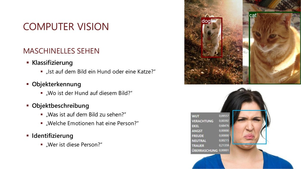 COMPUTER VISION MASCHINELLES SEHEN ▪ Klassifizi...