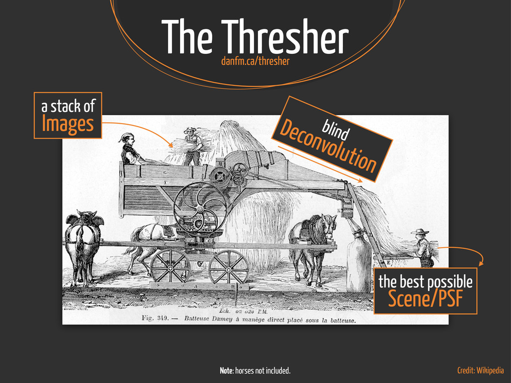 The Thresher Credit: Wikipedia a stack of Image...