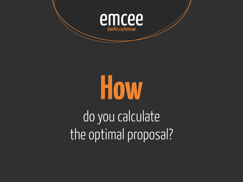 emcee danfm.ca/emcee How do you calculate the o...