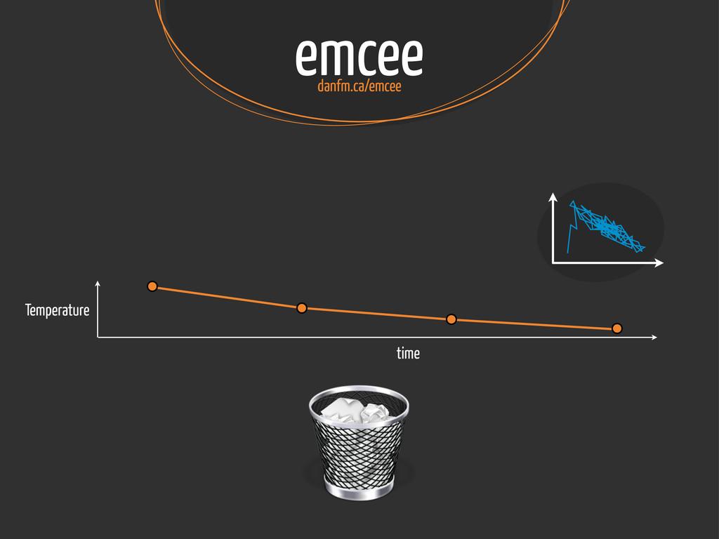 emcee danfm.ca/emcee Temperature time
