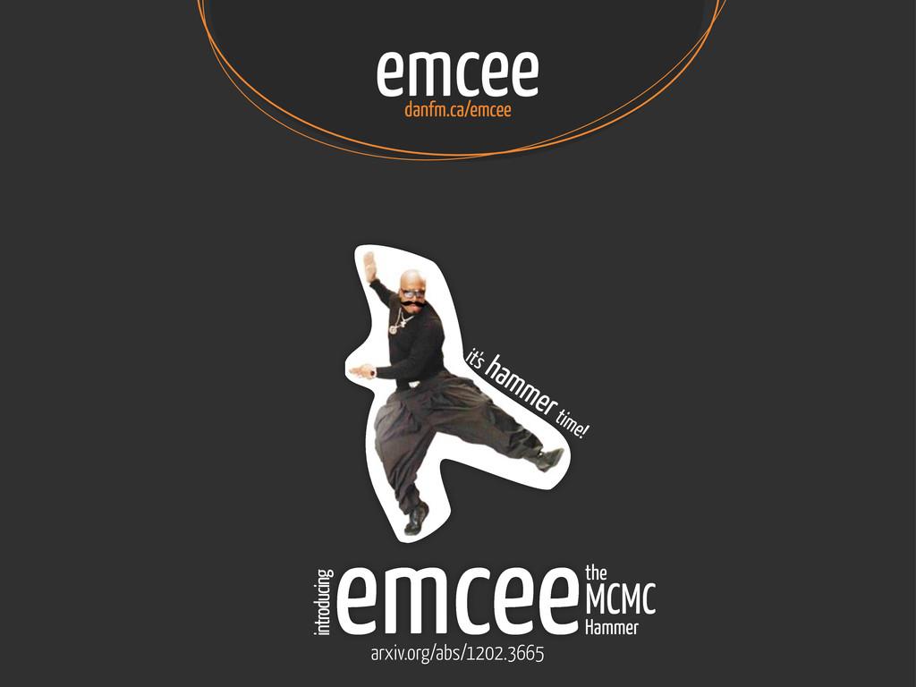 emcee danfm.ca/emcee it's hammer time! emceethe...