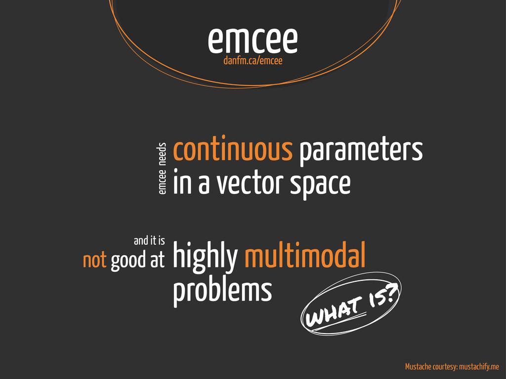 emcee danfm.ca/emcee Mustache courtesy: mustach...