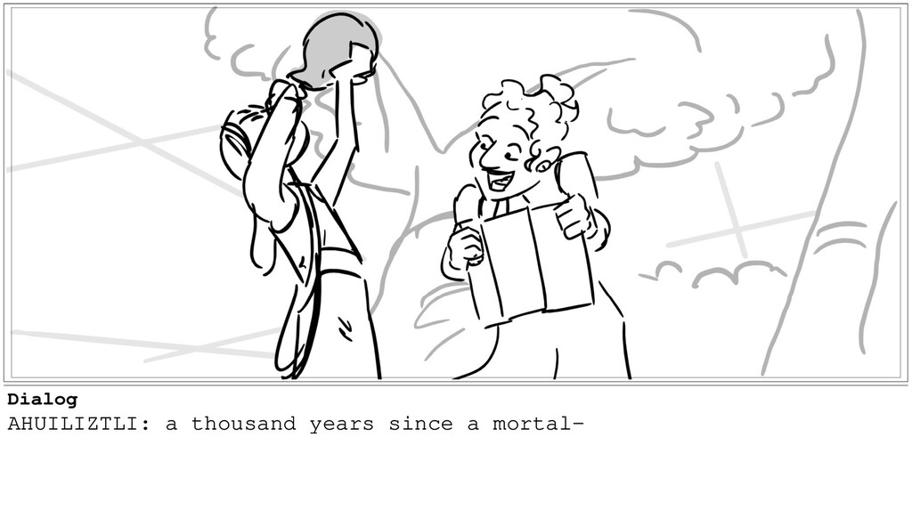 Dialog AHUILIZTLI: a thousand years since a mor...