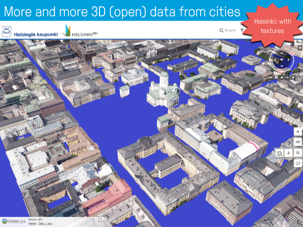 More and more 3D (open) data from cities 6 Hels...