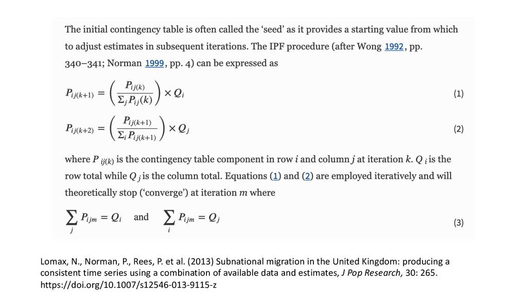 Lomax, N., Norman, P., Rees, P. et al. (2013) S...