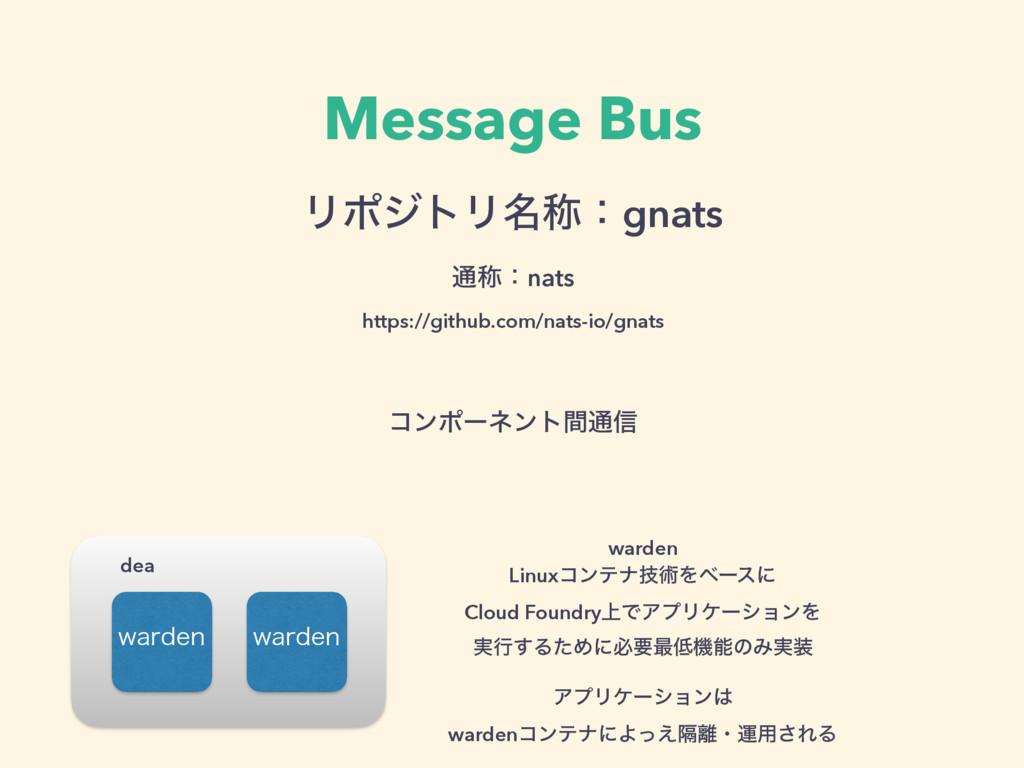 Message Bus ϦϙδτϦ໊শɿgnats ௨শɿnats https://git...