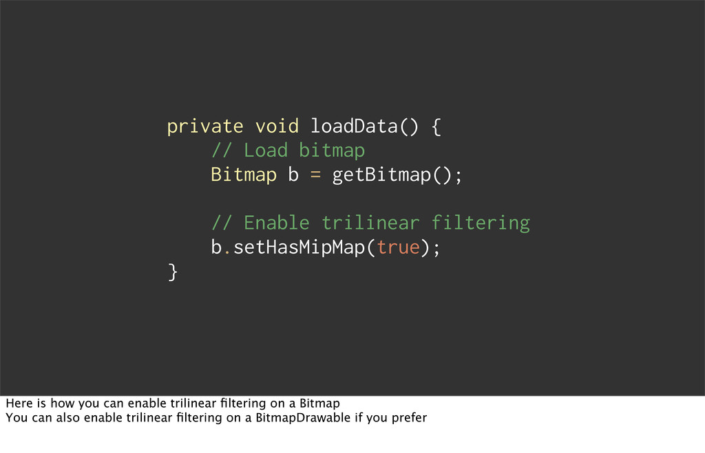private void loadData() { // Load bitmap Bitmap...