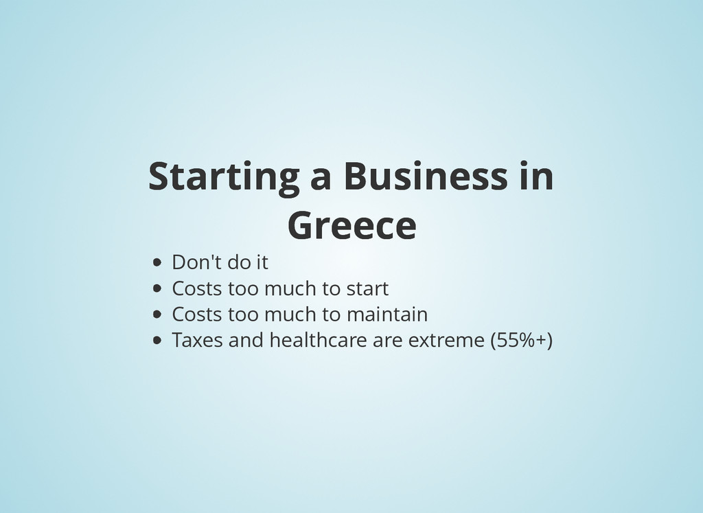 Starting a Business in Starting a Business in G...