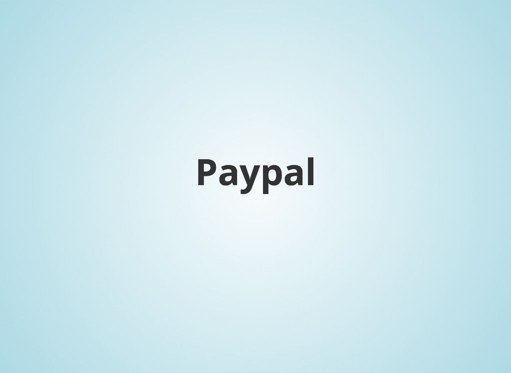 Paypal Paypal