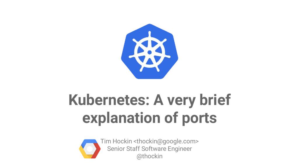 Google Cloud Platform Kubernetes: A very brief ...