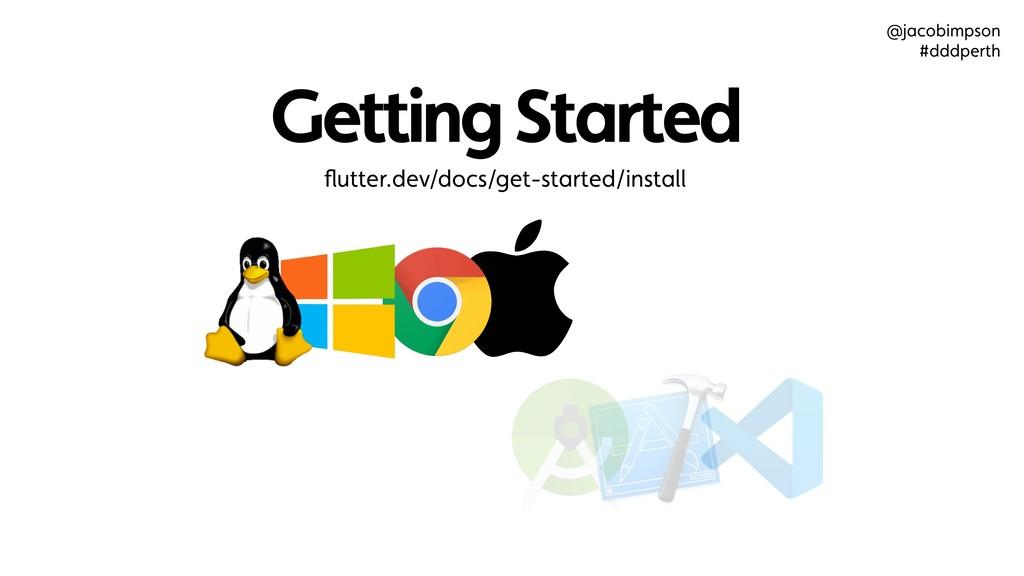 Getting Started flutter.dev/docs/get-started/ins...