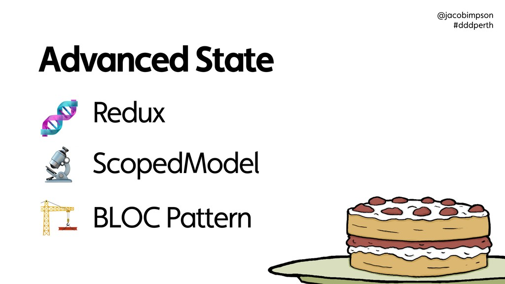 Advanced State ScopedModel BLOC Pattern Redux  ...