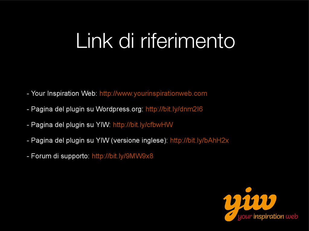 Link di riferimento - Your Inspiration Web: htt...