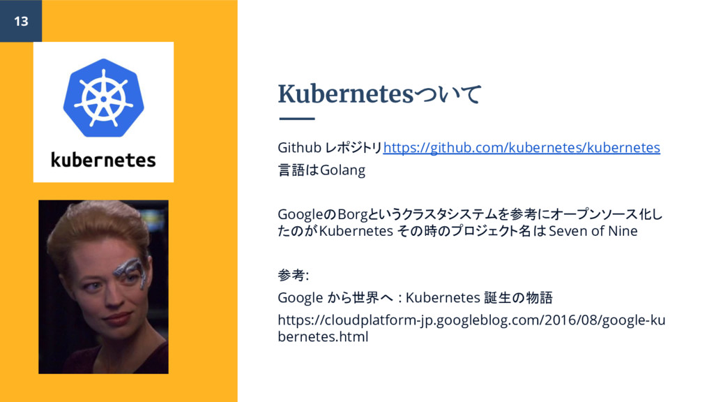 Kubernetesついて Github レポジトリhttps://github.com/ku...