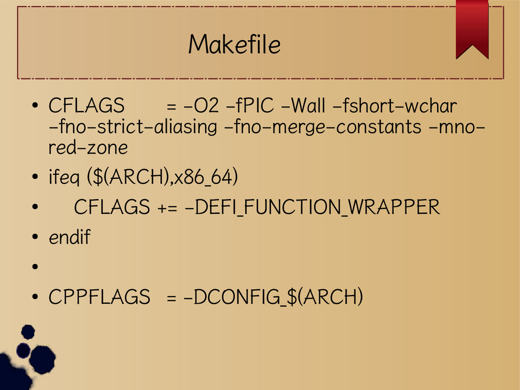 Makefile ● CFLAGS = -O2 -fPIC -Wall -fshort-wch...