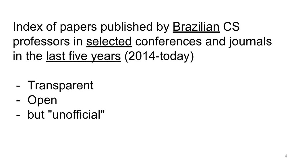 Index of papers published by Brazilian CS profe...
