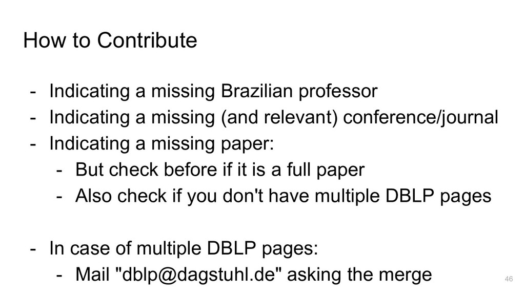 How to Contribute - Indicating a missing Brazil...