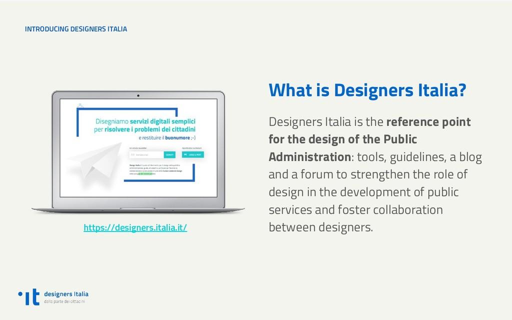 INTRODUCING DESIGNERS ITALIA What is Designers ...